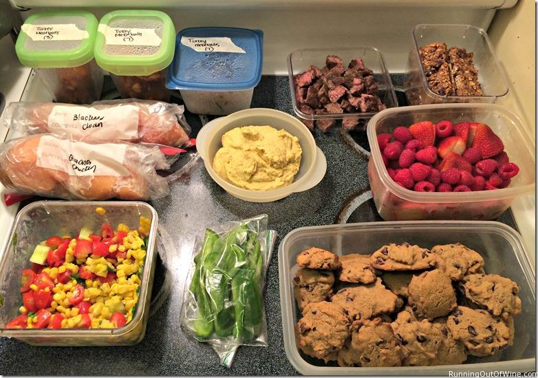 prepped food